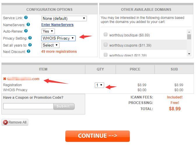 Shopify开店教程之如何购买域名?Shopify域名的购买 15