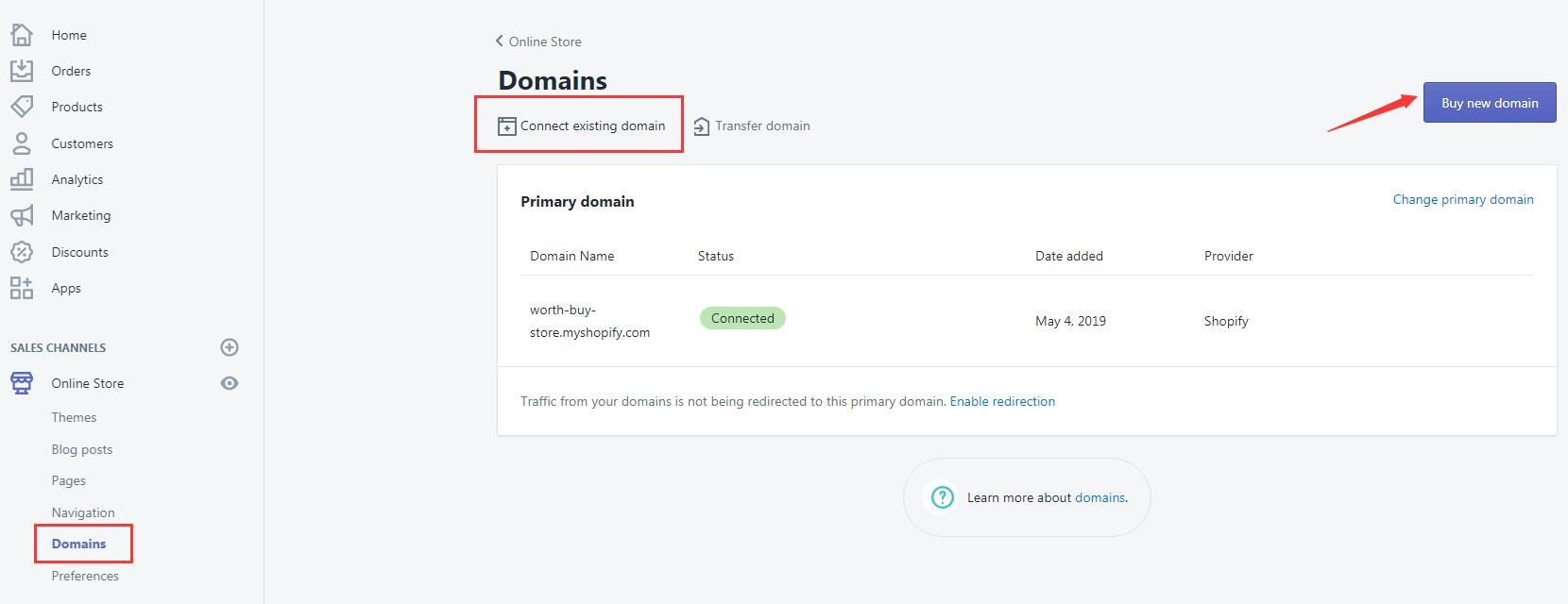 如何设置Shopify域名?教你一键解析Shopify域名|Shopify域名购买解析指南 14