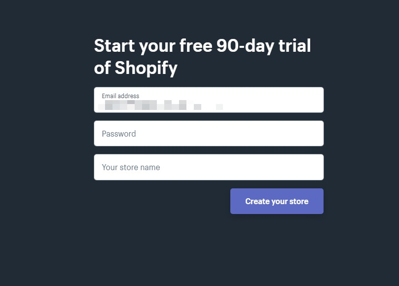Shopify开店教程—Shopify注册流程及注意事项 7